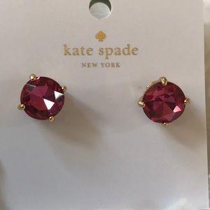 NWT ♠️Kate Spade Gumball crystal earrings ♠️